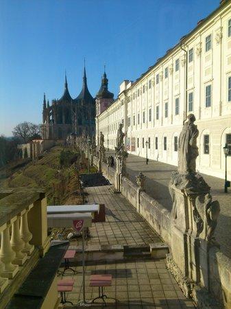 Vila U Varhanare: Day view