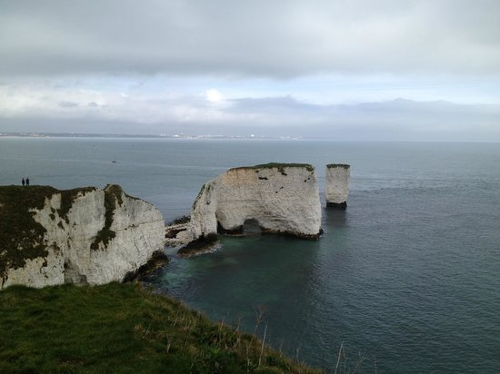 Swanage, UK :                   Old Harry Rocks