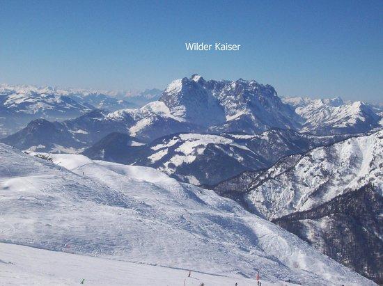 Steinplatte - Aussicht Wilder Kaiser