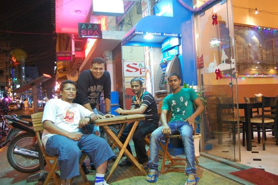 Little India:                   Very friendly staff