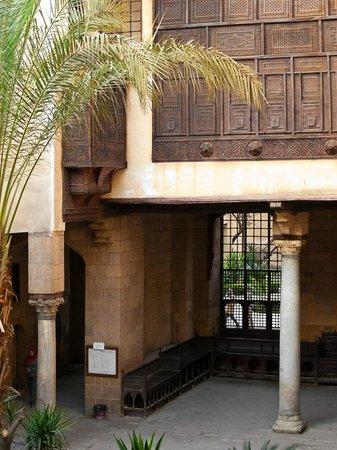 Bayt Al-Suhaymi:                   Innenhof, quasi Publikumsbereich