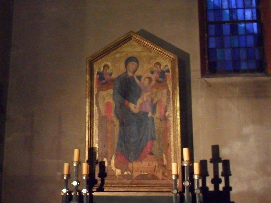 Basilica di Santa Maria dei Servi Bologna :                   Maestà di Cimabue