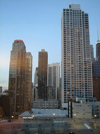 Homewood Suites by Hilton Chicago Downtown:                   View from the room window