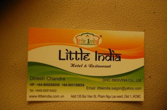 Little India:                   details