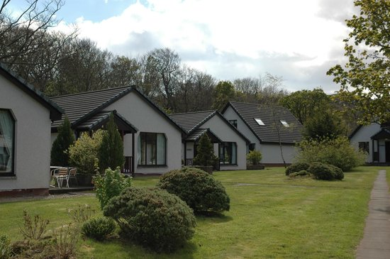 Auchrannie Resort:                   Lodges