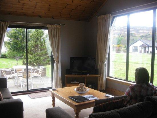 Auchrannie Resort:                   Lodge lounge