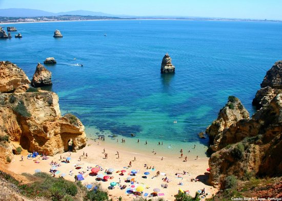 The best beaches in Lagos: Praia do Camilo