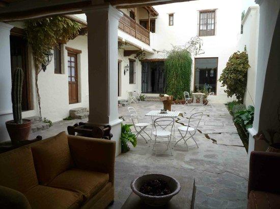 El Cortijo Hotel Boutique: Innenhof