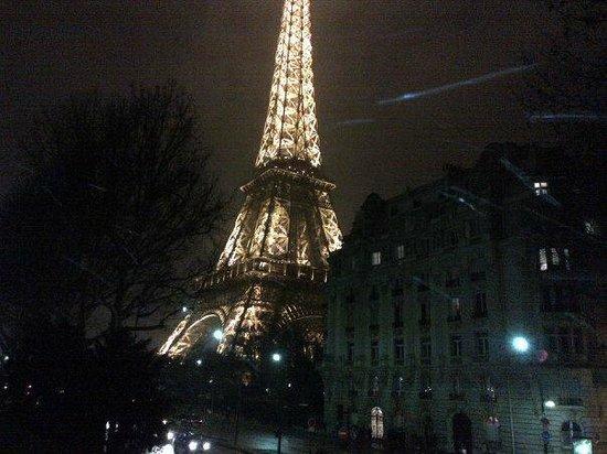 Timhotel Opéra Gare Saint Lazare: tour eifel