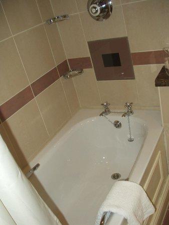 Chamberlain Hotel:                   Salle de bain
