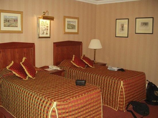 Chamberlain Hotel:                   Chambre
