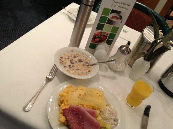 Holiday Inn Muenchen Unterhaching:                   Breakfast