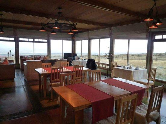 Estancia Cerro Guido: Restaurant