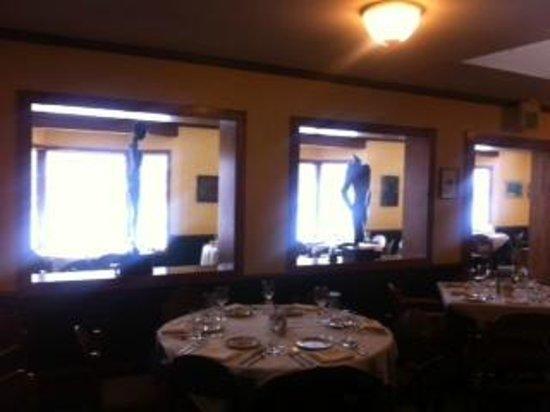 Gwyn's High Alpine Restaurant:                   View of the restaurant