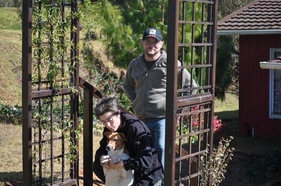 Zur alten Mine:                   Rainer und Walli