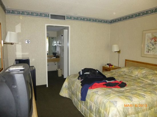 Vagabond Inn Palm Springs: King Bed Room