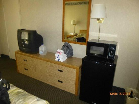 Vagabond Inn Palm Springs : Other part of room