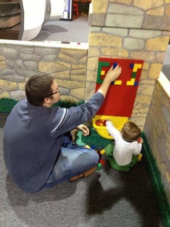 Cape Cod Children's Museum:                   I think dad enjoyed it as much as baby!