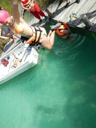 Sian Ka'an Biosphere Reserve: lista para el recorrido en la laguna