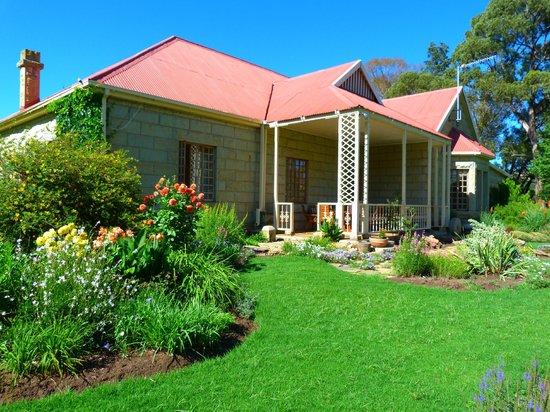 St Fort Country House:                   veranda