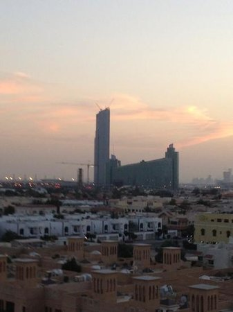 Premier Inn Dubai International Airport Hotel:                   from roof garden