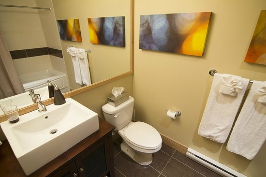 Les Suites de la Gare by Location ADP Tremblant: main bathroom