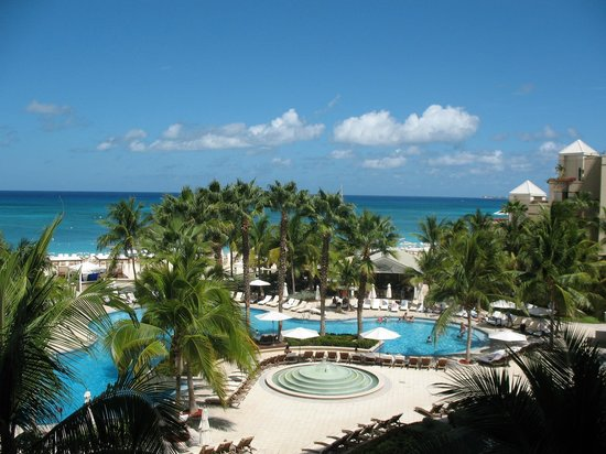 The Ritz-Carlton, Grand Cayman:                   View From Room