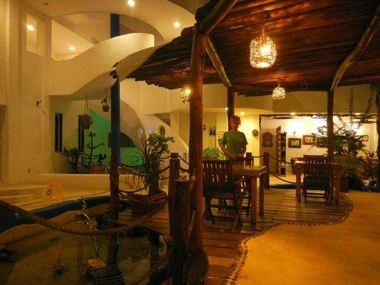 Koox Matan Ka'an Hotel: comedor....acogedor