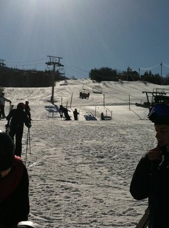 Bolton Valley Resort:                   Spring skiing