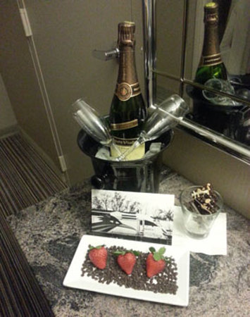 Hyatt Regency Albuquerque:                   Later in the evening, another wonderful surprise!
