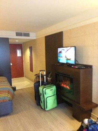 L'Hotel Quebec:                                     notre superbe chambre
