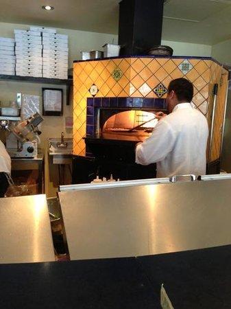 La Bottega :                   Authentic Tuscan Stone Pizza Oven