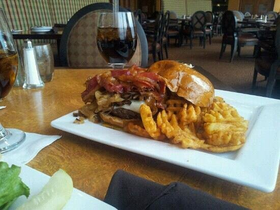 Riverfront Grille:                                     The Pat Lafrieda burger, one of the best burgers I have ever