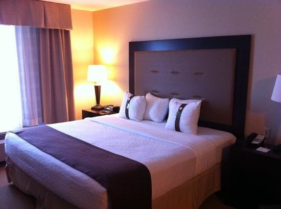 Holiday Inn & Suites Airport:                   the room