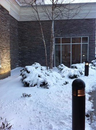 Holiday Inn & Suites Airport:                   small snow storm