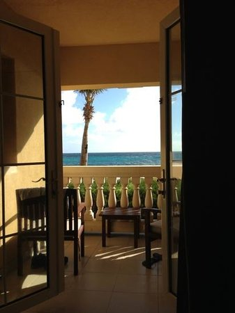 The Westin Dawn Beach Resort & Spa, St. Maarten:                   beautiful morning, beautiful view