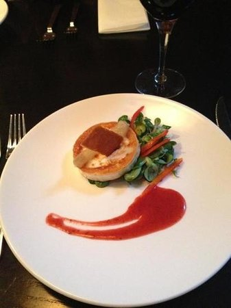 Barolo Grill:                   goats cheese starter