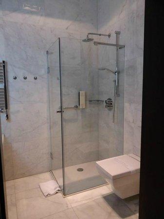 Hotel Krasicki: Bathroom in room
