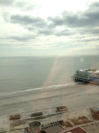 Bally's Atlantic City:                   view from the 40th floor