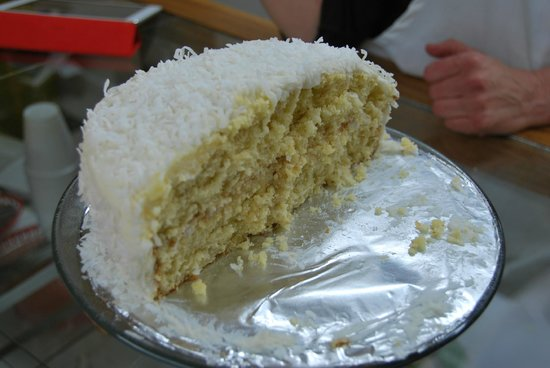 Mockingbird Cafe & Bakery :                   Delicious homemade coconut cake