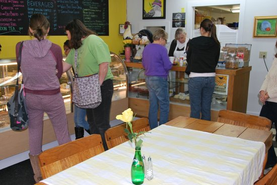 Mockingbird Cafe & Bakery:                   And the line gets longer