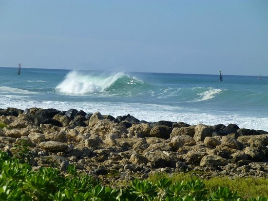 Marriott Ko Olina Beach Club: Love the wave action