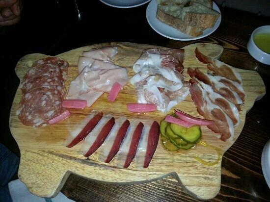 Coppa :                   Salumi - 5 different tasty meats