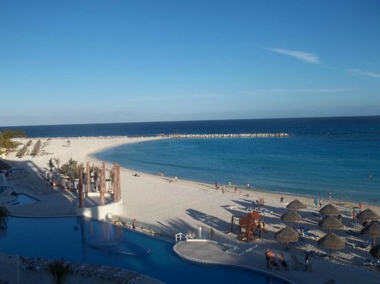 Krystal Cancun:                   room with a view