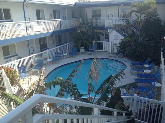 Great Heron Inn :                   Pool area