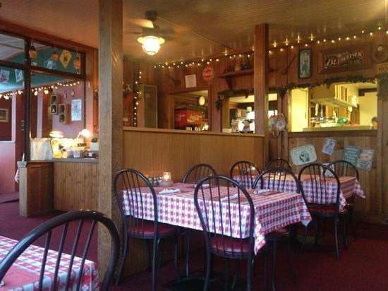 Ferndale Pizza Company:                                     Inside restaurant