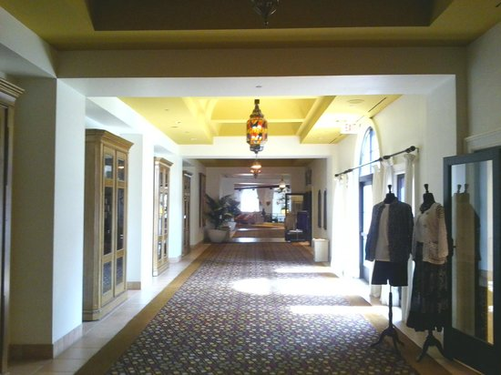 The Westin Lake Las Vegas Resort & Spa:                                                                         Part of Lobby