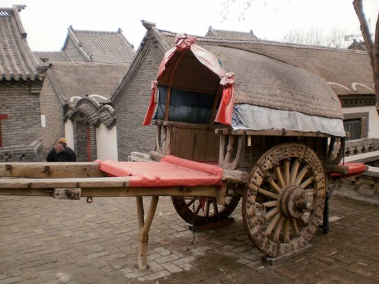 Yangjiabu Folk Culture Village:                   Ancient cart