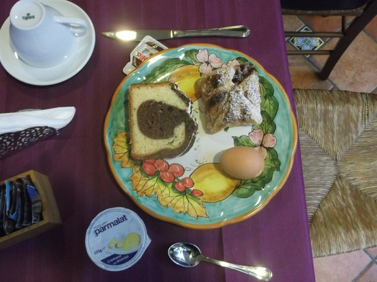 B&B Il Roseto:                                     Breakfast