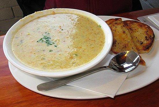 Hotel Bruny Bistro : Seafood Chowder